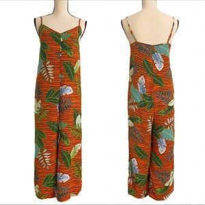 ❤️Tropical Print Boho Style Jumpsuit